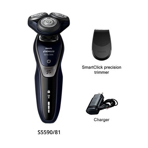 norelco shaver 5550 s5590/81