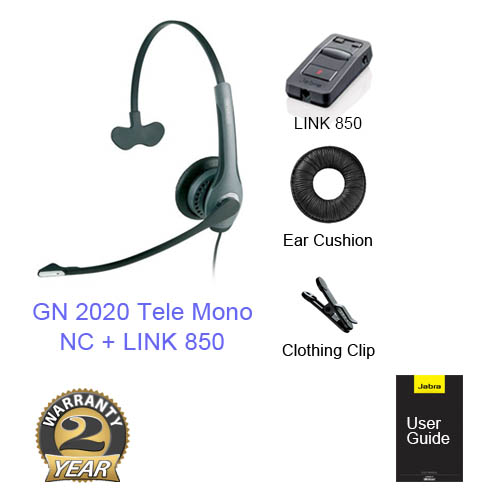 jabra gn 2020 tele monowith link 860 amp
