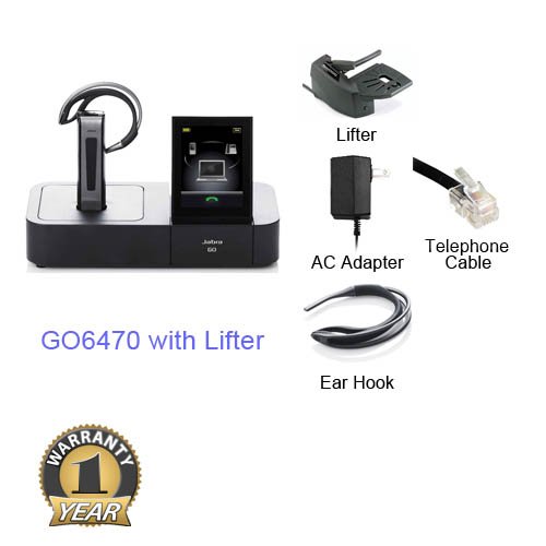jabra go 6470 with lifter