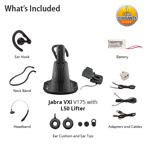 jabra vxi v175 with l50 lifter