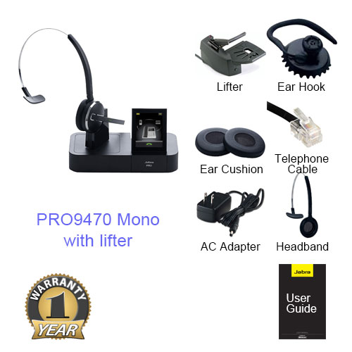 jabra 9470 mono with lifter
