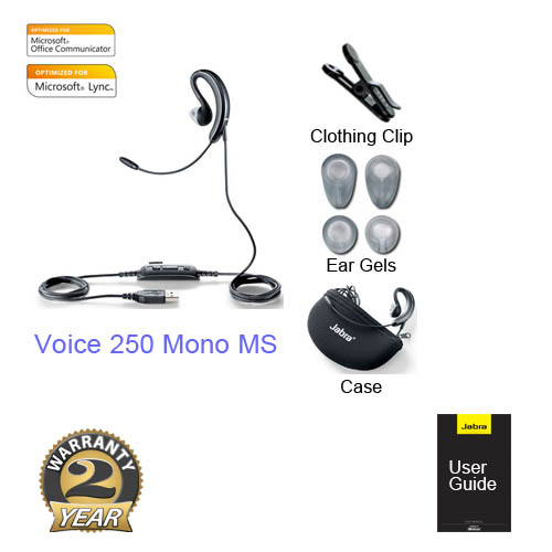 jabra voice 250 mono ms