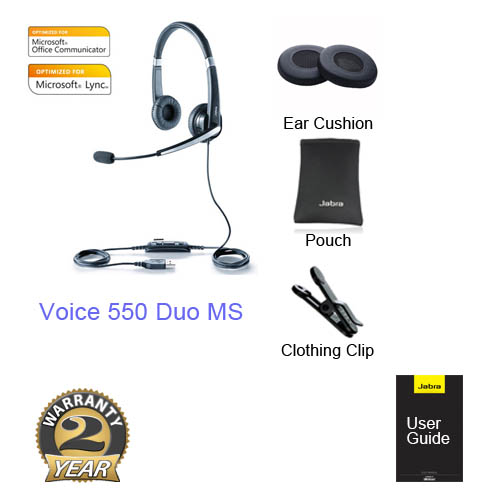 jabra voice 550 duo ms BIZ620 620 MS