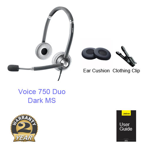 jabra voice 750 duo dark ms