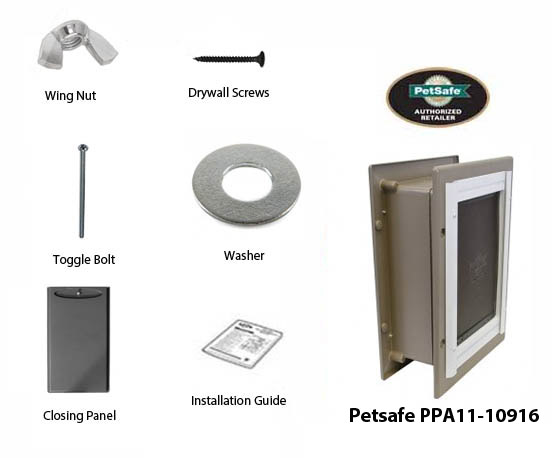 petsafe wall entry aluminum petdoor medium
