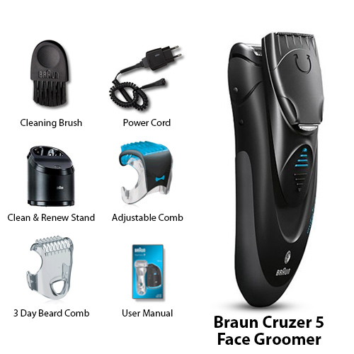 braun cruzer5 face
