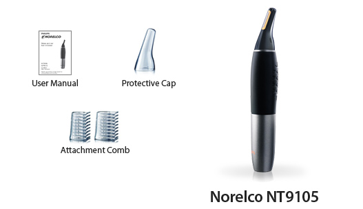 norelco nt9105 nose ear trimmer