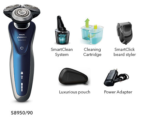 norelco shaver 8900 s8950 90