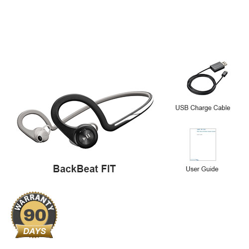backbeat fit black