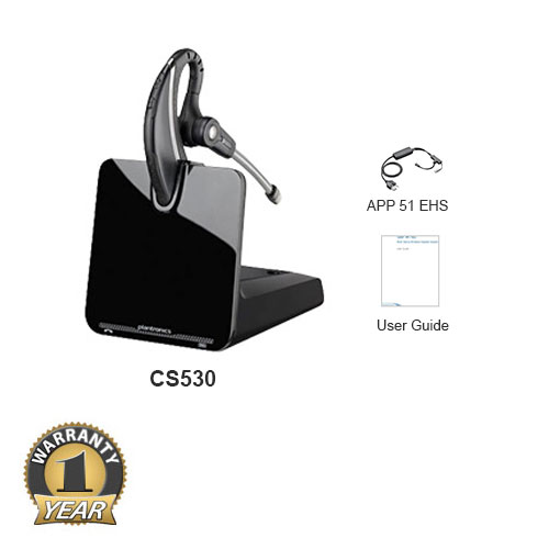 plantronics cs530 with ehs cable