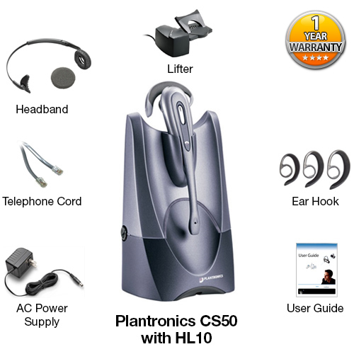 plantronics cs50 with lifter