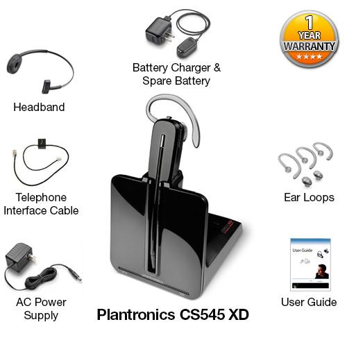 plantronics csCS545 xd