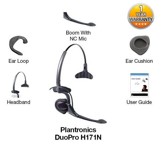 plantronics duopro h171n