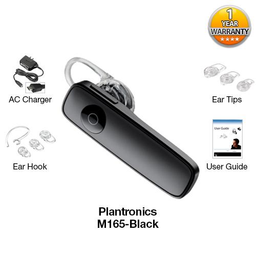 plantronics m165 black