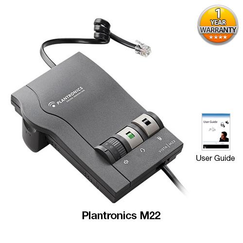 plantronics m22
