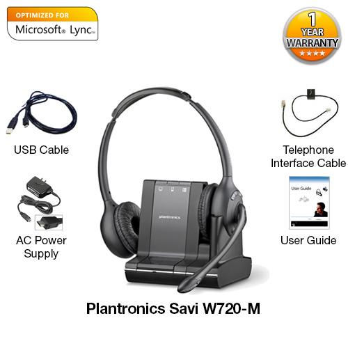 plantronics savi w720 mmicrosoft optimized