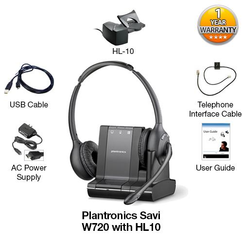 plantronics savi w720 with hl10