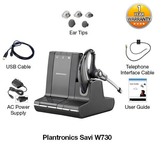 plantronics savi w730