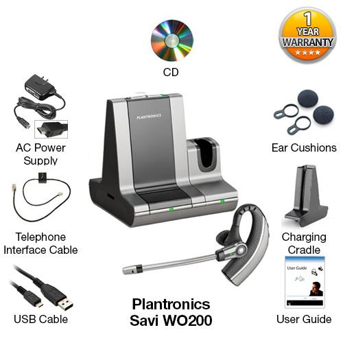 plantronics wo200