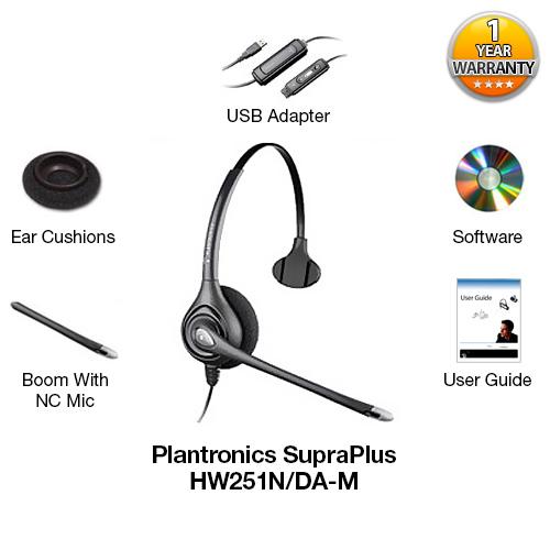 plantronics hw251n da m