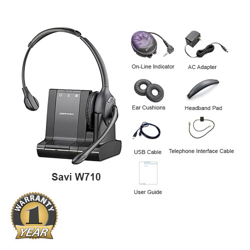plantronics savi w710 with online indicator