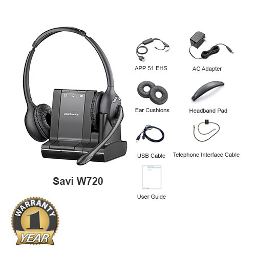 plantronics savi w720 with ehs app 51 for polycom