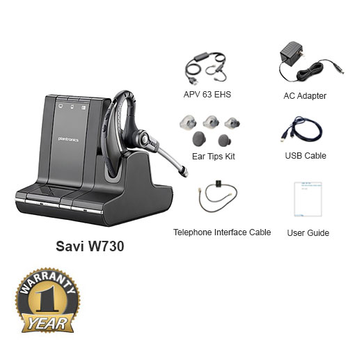 plantronics savi w730 with ehs apv 63 for avaya