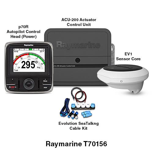 raymarine ev 200 power evolution autopilot system