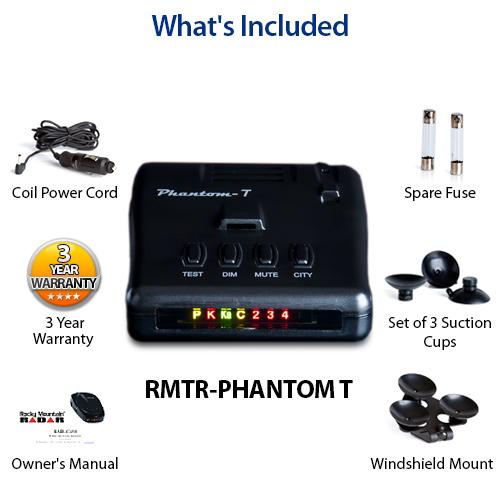 rocky mountain radar phantom t