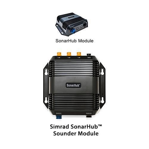 simrad sonarhub with lss 2