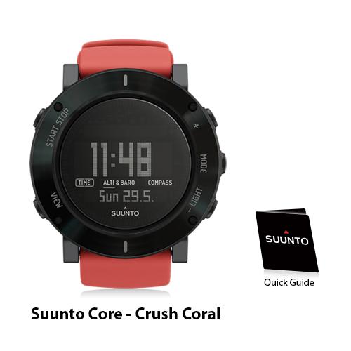 suunto core crush coral