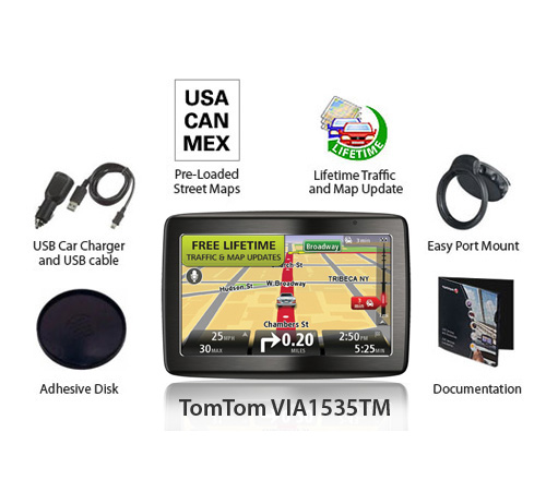 tomtom via1535tm