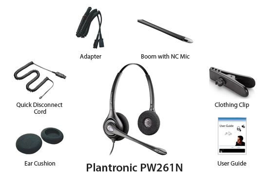 plantronics hw 261 n